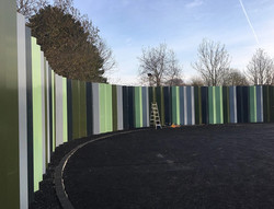 Anti climb fence - Metal Fence