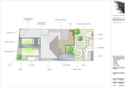 Plan view - Cornish Garden