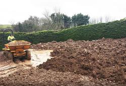Ground works - Soil preparation