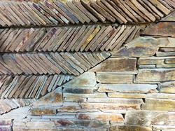 Wave pattern wall