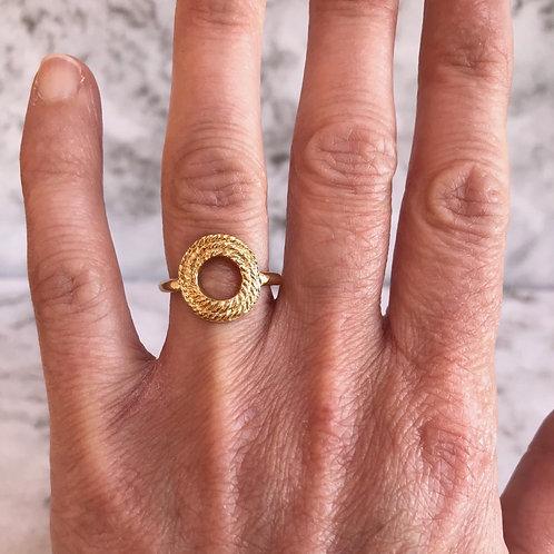 Open Medallion Ring