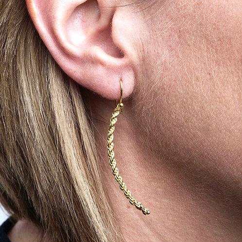 Chain Arc Earrings