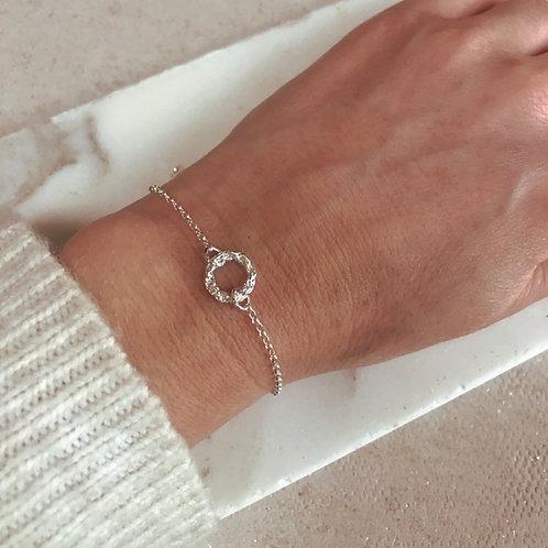 Mini Chain Circle Bracelet