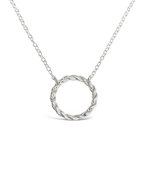 Chain Circle Pendant