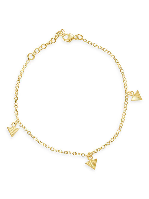 TRIANGLE FALL BRACELET