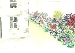 visuel de massif jardin privé