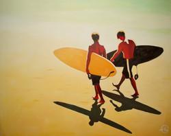 """SURFING IN TH LIGHT"""