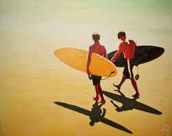 """""""SURFING IN THE LIGHT"""""""