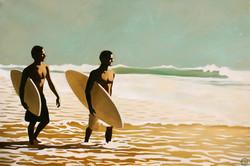 """""""WALKING SURFERS II"""""""