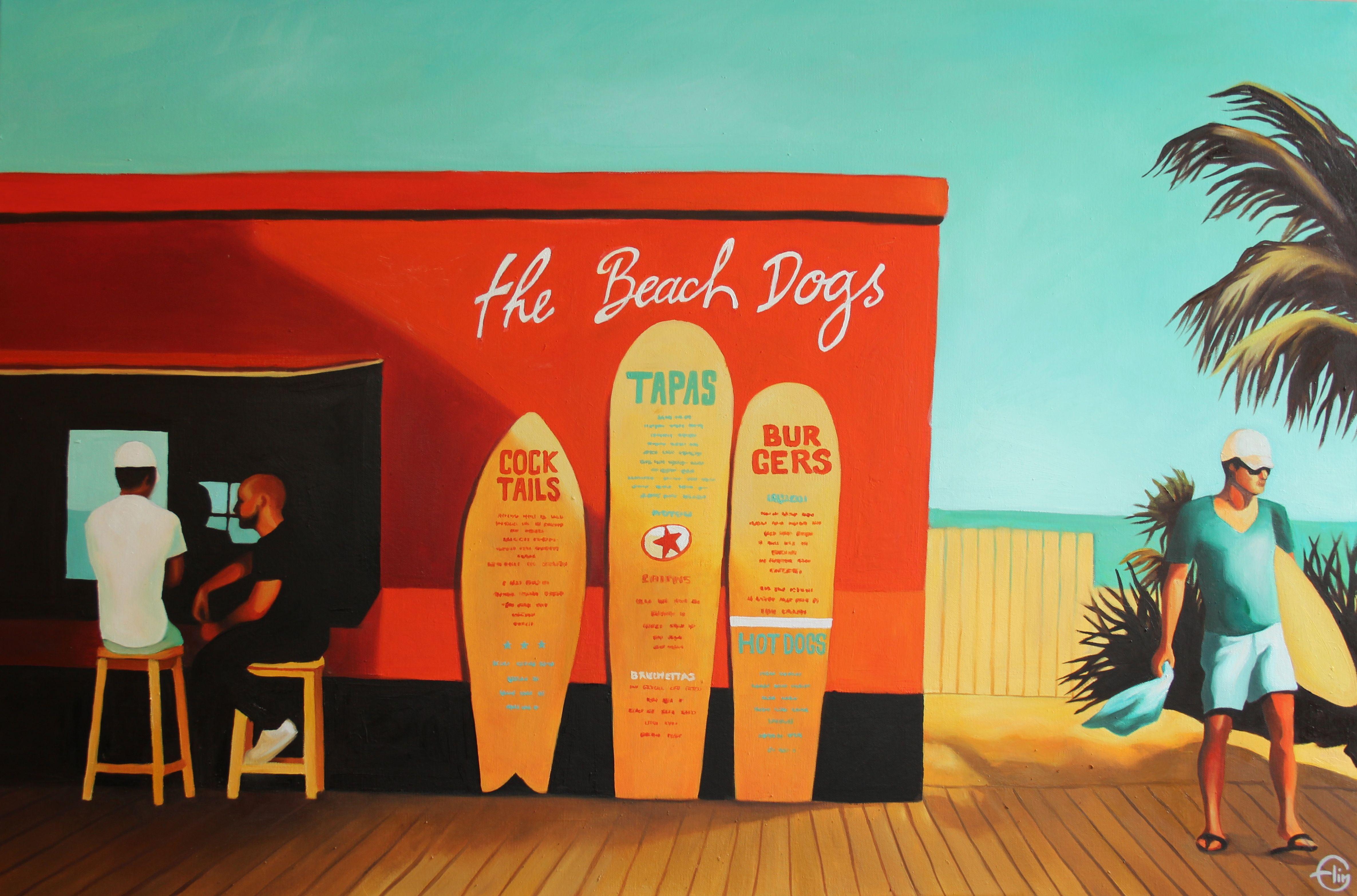 """THE BEACH DOGS"""