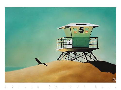 "Dedicated Art Print ""San Diego"" 20/27 inch"