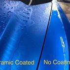 hydrophobic effect ceramic coating