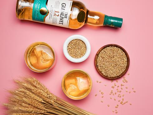 The Glenlivet serving single malt whisky