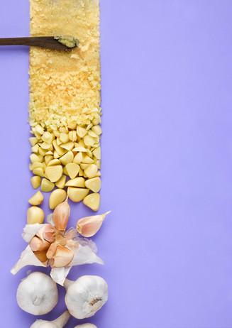Garlic Singapore Food Photography