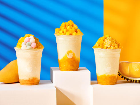 Choose your fighter! 1. Mango yoghurt 2.