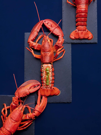 These Mentaiko Boston Lobsters from Waa