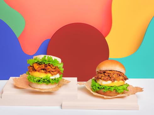 Kimchi + Burger? Your wish will be grant