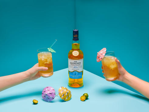 A refreshing summertime whisky cocktail