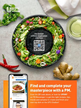 Unilever Chat Bubble Salad
