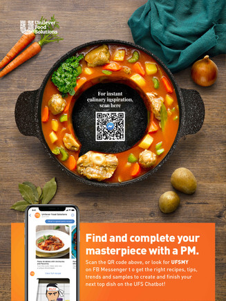 Unilever Chat Bubble Ox Tail Soup
