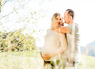 Babybauchshooting mit Sabrina & Hannes