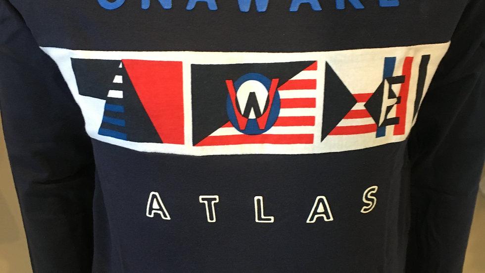 Tee shirt manches longues bleu marine