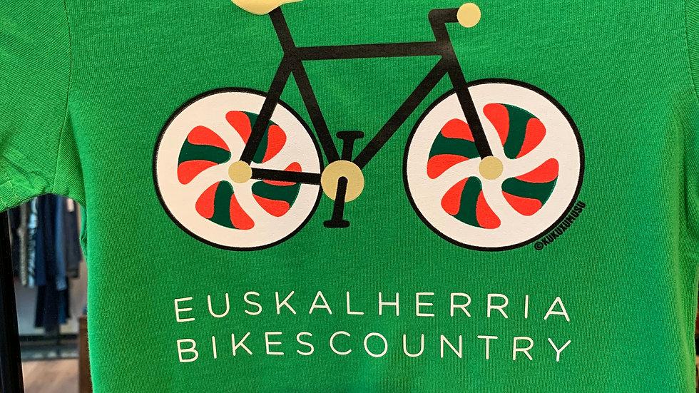 Bikes Country Green en enfant Mixte