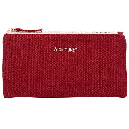 WINE MONEY - ZIP POUCH