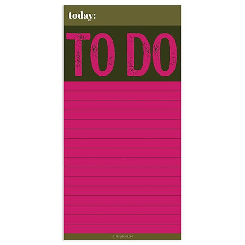MAGNETIC MEMO PAD - TO DO LIST