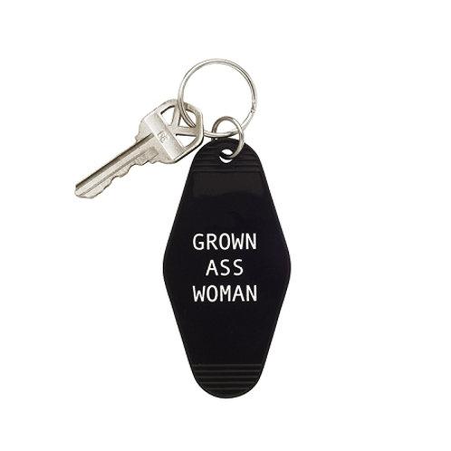 KEYCHAIN: GROWN ASS WOMAN