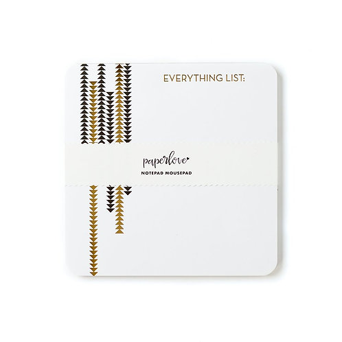 EVERYTHING LIST MOUSEPAD