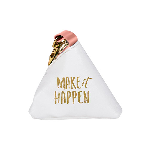 CHANGE PURSE- MAKE IT HAPPEN