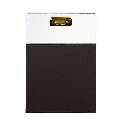 CLIPBOARD PORTFOLIO - BLACK & WHITE