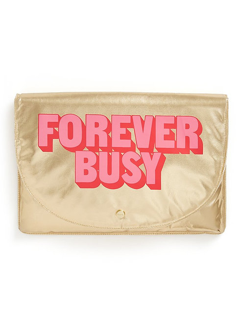LAPTOP TOTE: FOREVER BUSY