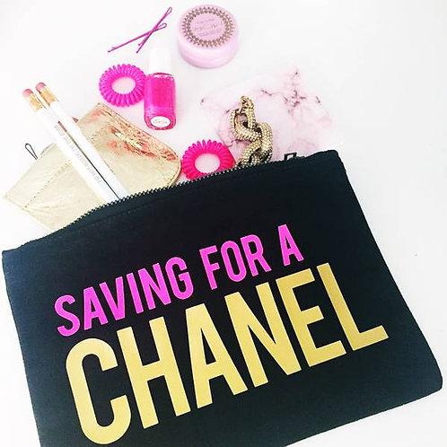 SAVING FOR A CHANEL - MAKEUP BAG