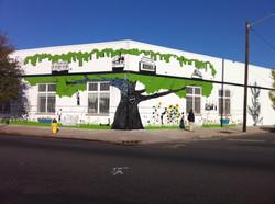 Mural on Greater Newark Conservancy
