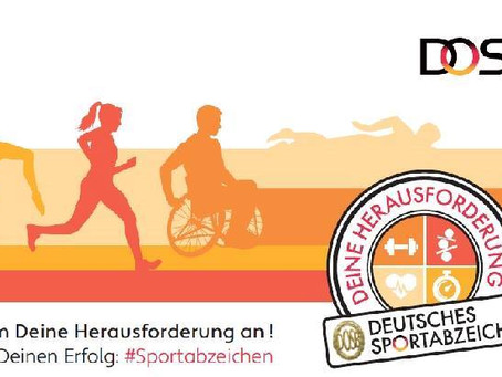 Sportabzeichen-Abnahme 2020