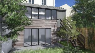 Extension d'une Maison à Asnières