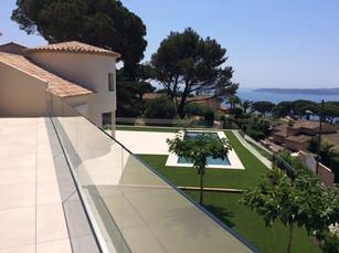 Restructuration et Extension d'une Maison à Sainte-Maxime