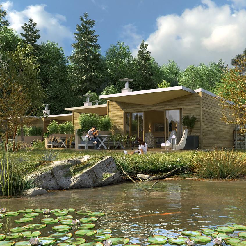 2596_VN_Cottage02_Insertion-paysagère-des-cottages-Nature-©-Jean-de-Gastines-Architectes-T.-HuauInterscène