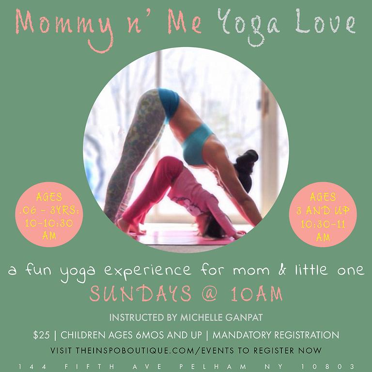 Mommy n' Me Yoga Love
