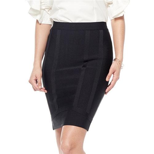 Ribbed Bandage Skirt