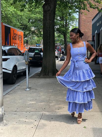 Cococabana Ruffle Dress