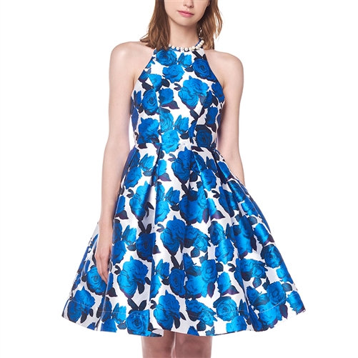 Fall in Love w/Floral - t-Zone Back Dress