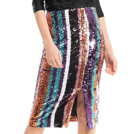 Disco Fever Sequined Skirt
