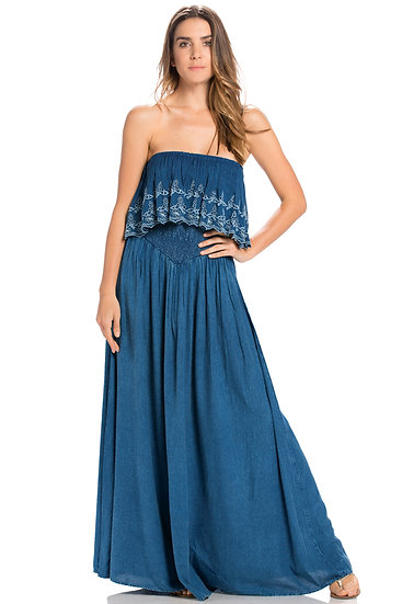 Denim Prairie Dress