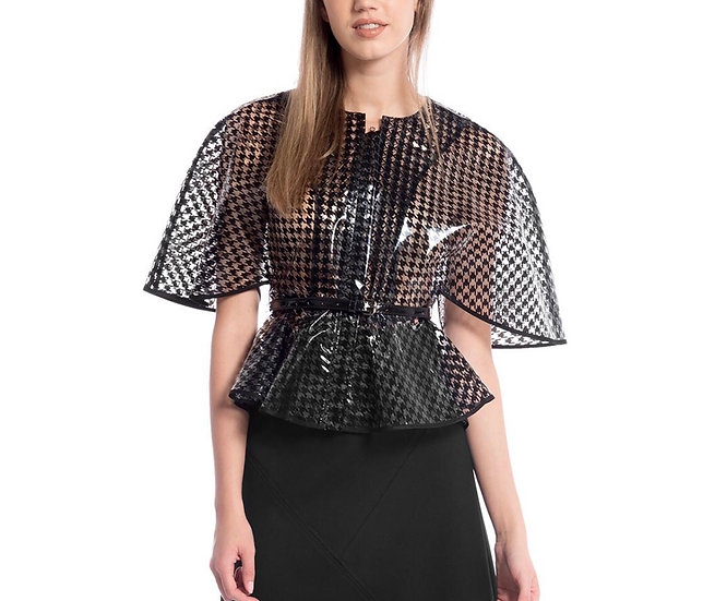 You Aint Nothin' but a Houndstooth Peplum