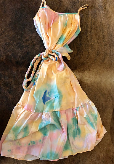 Parisian Pastel Rope Dress