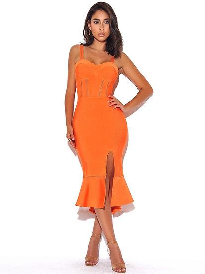 Peach Cobbler Betty Boop Dress