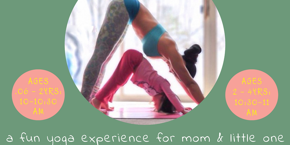 Mommy n' Me Yoga Love